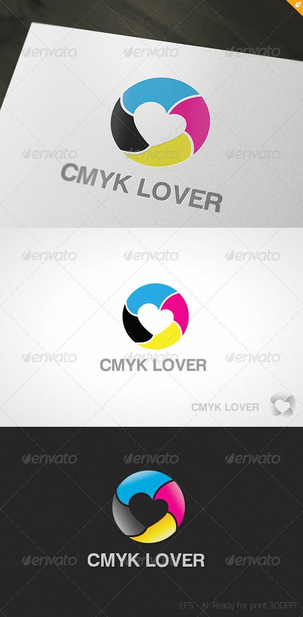 CMYK Lover Logo - Objects Logo Templates