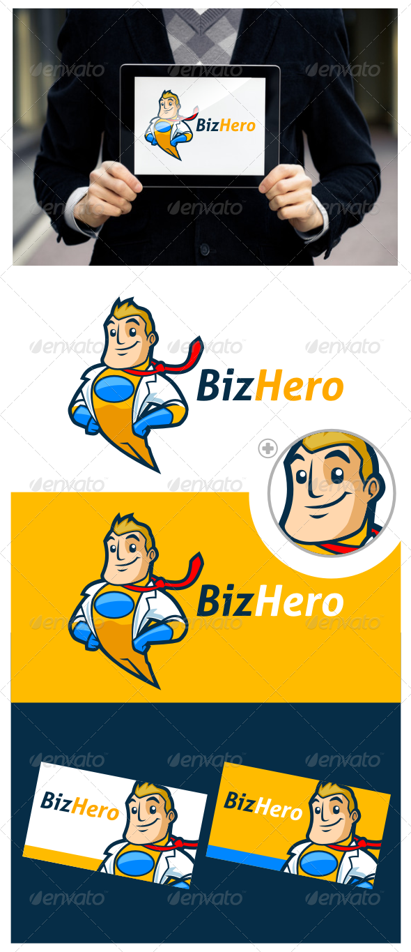 Superhero Logo Template By Suhandi Graphicriver