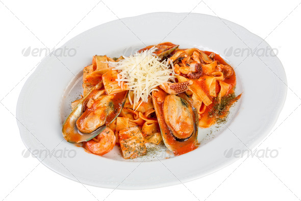 sea food combination - Stock Photo - Images