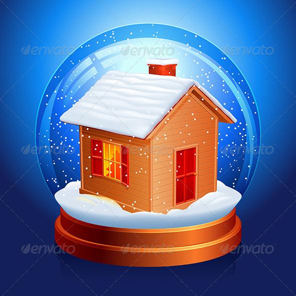 Snow Globe - Christmas Seasons/Holidays