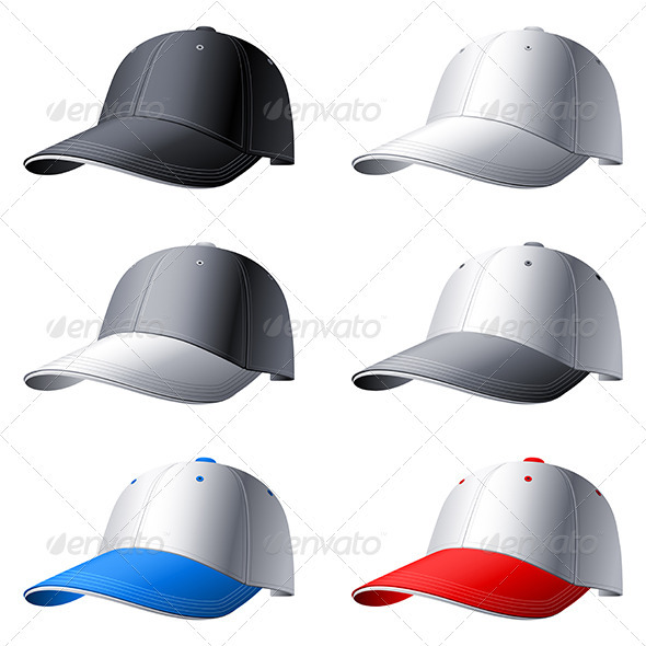 Caps - Objects Vectors