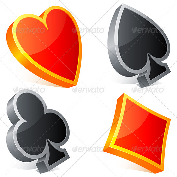 Card Suits - Miscellaneous Vectors
