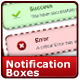 14 CSS Notification Boxes