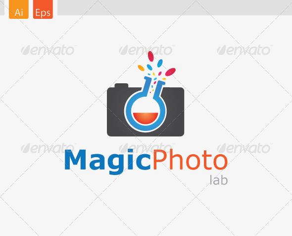 MagicPhoto Lab Logo Design - Abstract Logo Templates