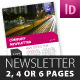 Versatile Newsletter Template - GraphicRiver Item for Sale