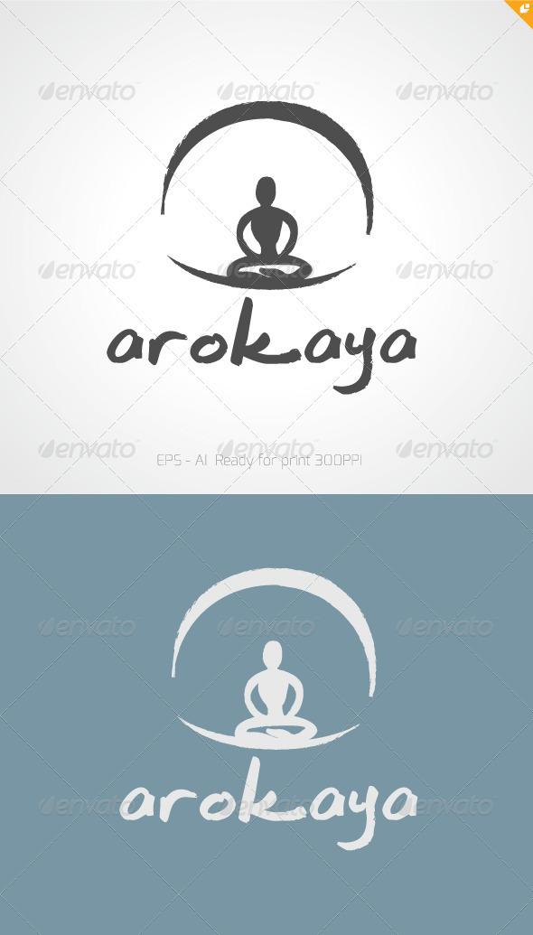 Arocaya Wellness and Spa Logo  - Nature Logo Templates