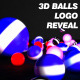 3D Balls Logo Reveal 3-Pack - VideoHive Item for Sale