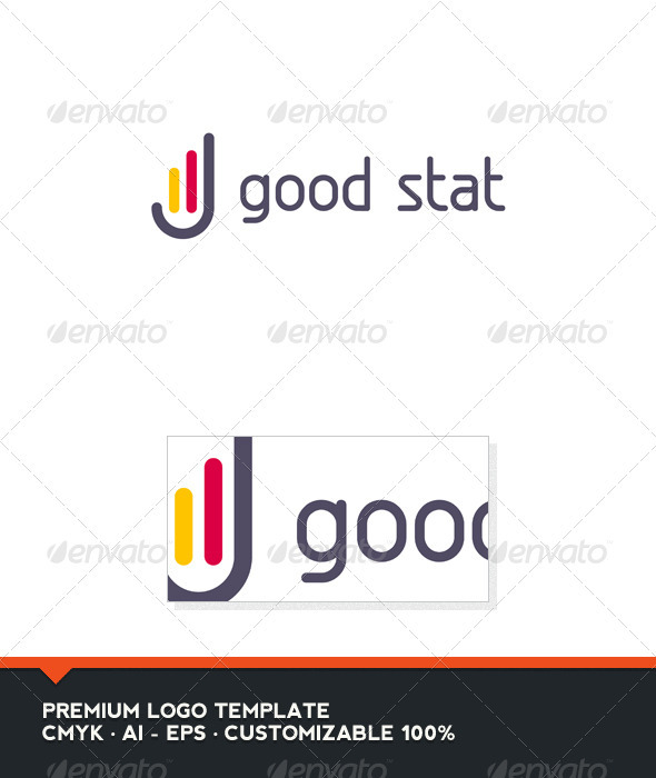 Good Stat Logo Template - Abstract Logo Templates