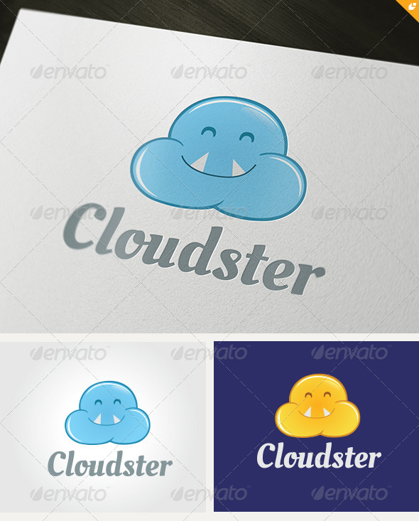 Cloudster Logo - Nature Logo Templates