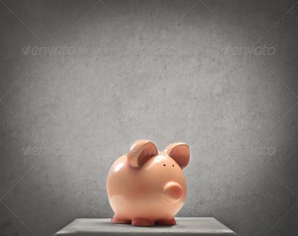 Piggy - Stock Photo - Images