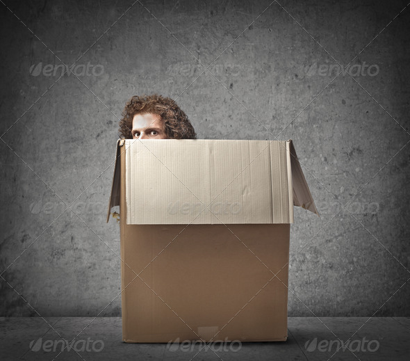 Hidden in a Box - Stock Photo - Images