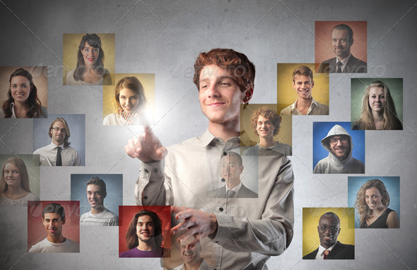 Social Network - Stock Photo - Images