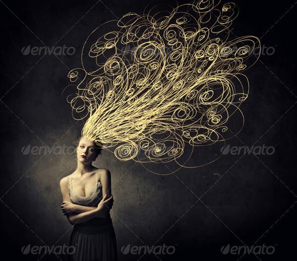 Female Art - Stock Photo - Images