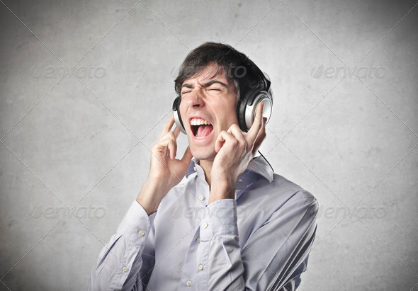 Too Loud - Stock Photo - Images