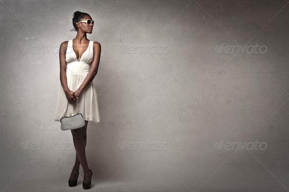 White on Black - Stock Photo - Images