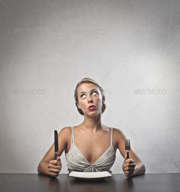 Waiting for the Meal - Stock Photo - Images