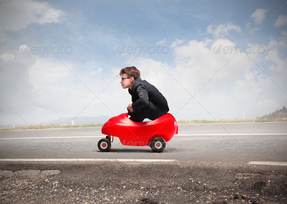 Small Car - Stock Photo - Images