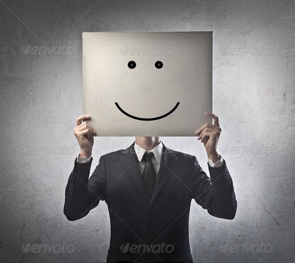 Businessman Smile - Stock Photo - Images