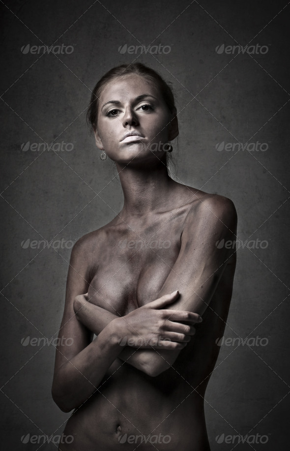Black Painted - Stock Photo - Images