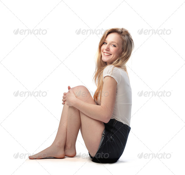 Smiling Girl - Stock Photo - Images