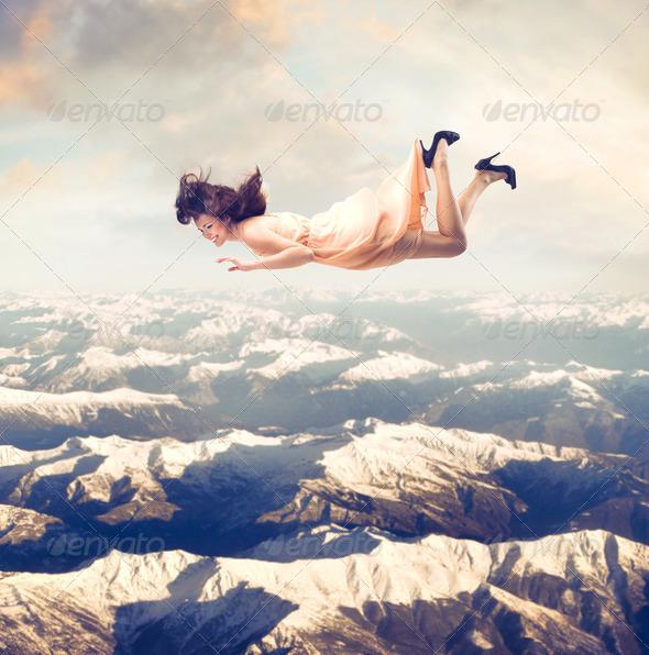 Falling - Stock Photo - Images