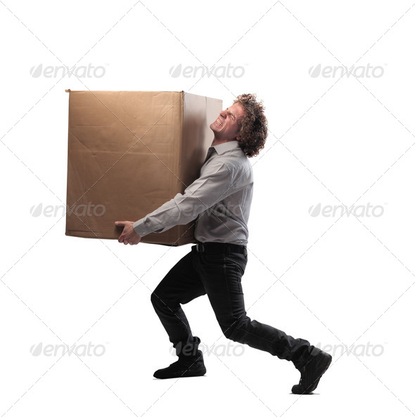 Too Heavy - Stock Photo - Images