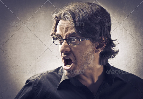 Rage - Stock Photo - Images