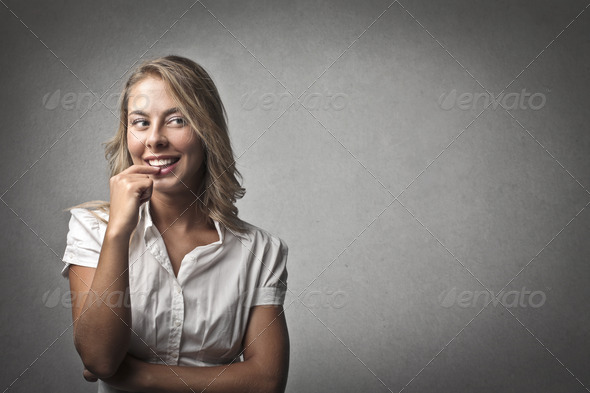 Cute Smile - Stock Photo - Images