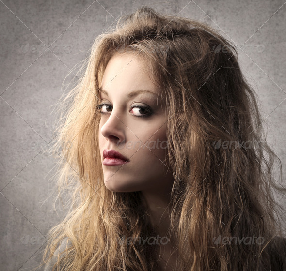 Blonde Look - Stock Photo - Images