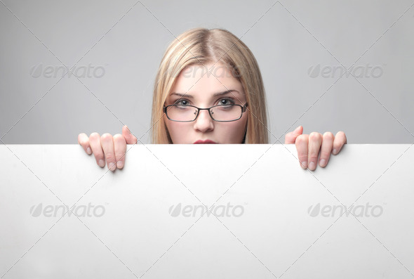 Blonde Cardboard - Stock Photo - Images