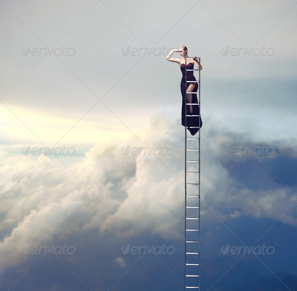 Overlooking - Stock Photo - Images