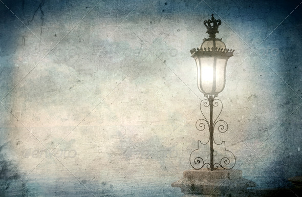 Vintage Lamp - Stock Photo - Images