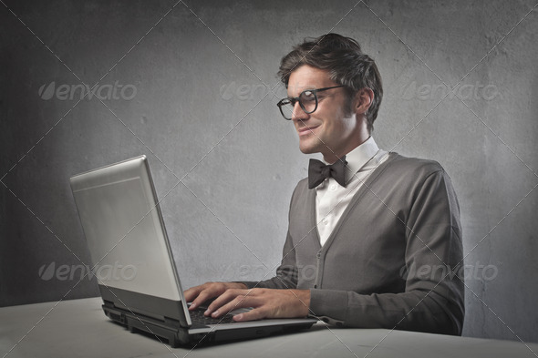 Fashionable Office Worker - Stock Photo - Images