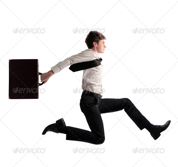 Business Run - Stock Photo - Images