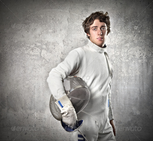 Fencer - Stock Photo - Images