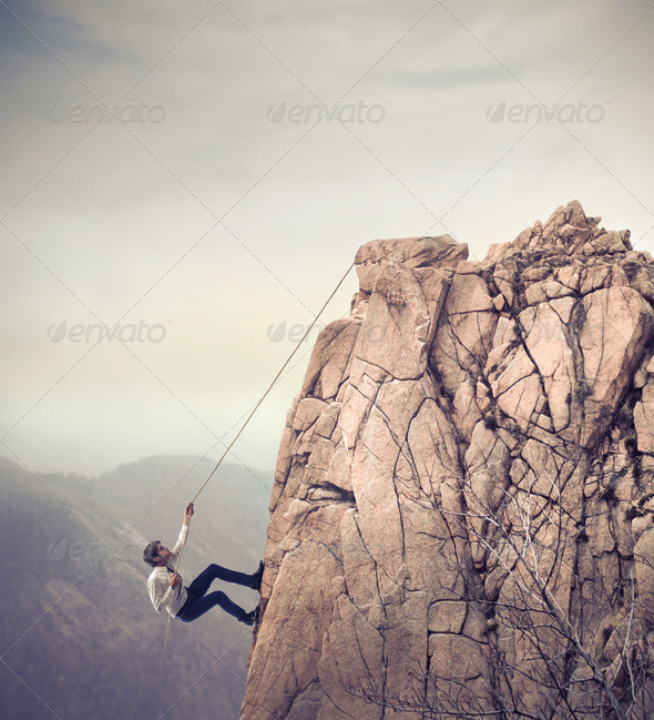 Business Climb - Stock Photo - Images