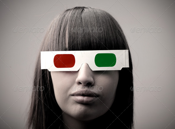 Tridimensional View - Stock Photo - Images