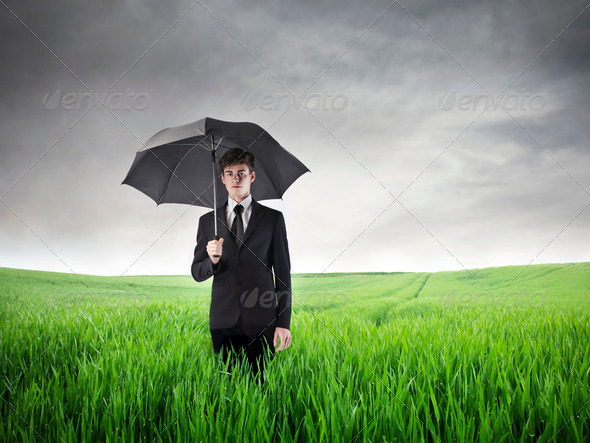 Young Businessman Sad - Stock Photo - Images