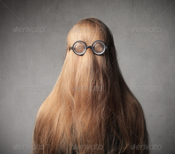 Hair Glass - Stock Photo - Images