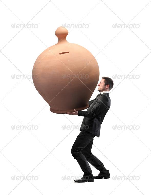 Too Many Savings - Stock Photo - Images