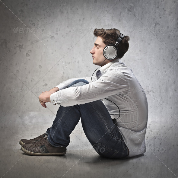 Young Music - Stock Photo - Images