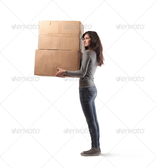 Two Boxes - Stock Photo - Images