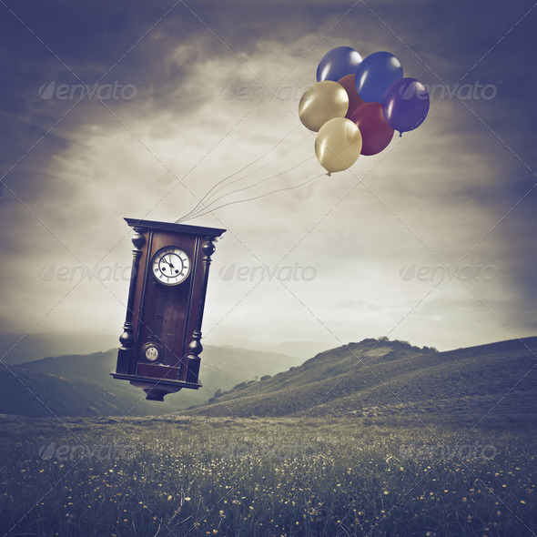 Time Run - Stock Photo - Images