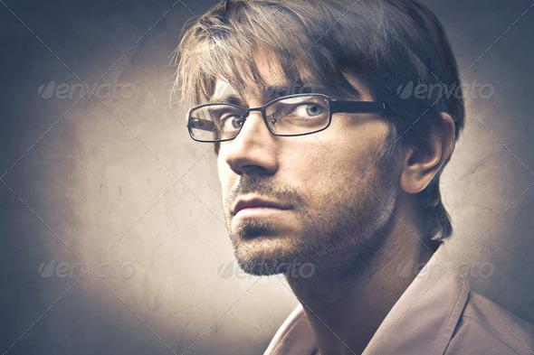 Serious Man - Stock Photo - Images