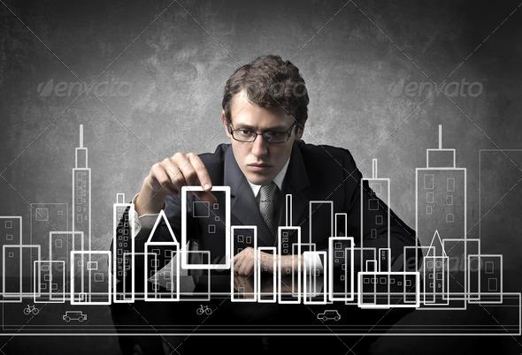 Creative Urbanist - Stock Photo - Images