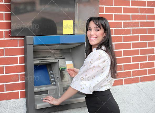 Bancomat - Stock Photo - Images