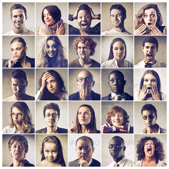 Different People - Stock Photo - Images