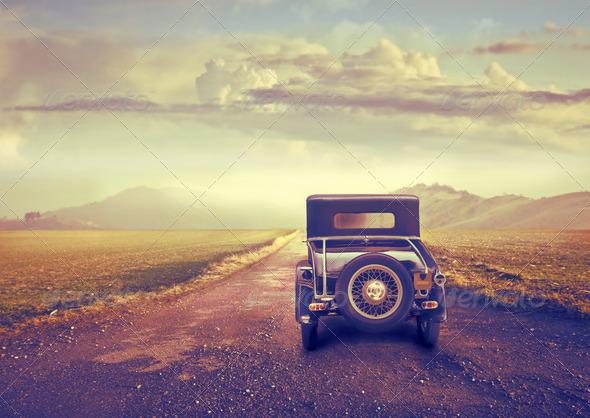 Vintage Trip - Stock Photo - Images