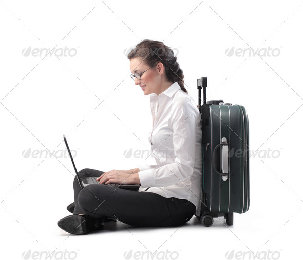 Office Worker Trip - Stock Photo - Images