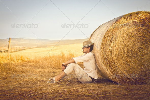 Country Boy - Stock Photo - Images